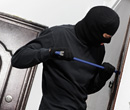 The top three ways to beat a burglar? Light, time and noise.